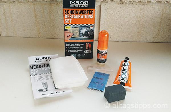 matte und tr be scheinwerfer polieren und aufbereiten. Black Bedroom Furniture Sets. Home Design Ideas